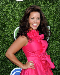 Katy Mixon at the CBS, Showtime and CW TCA Summer party in California.