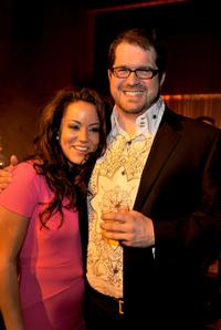 Katy Mixon and Director Seth Gordon at the after party of the premiere of
