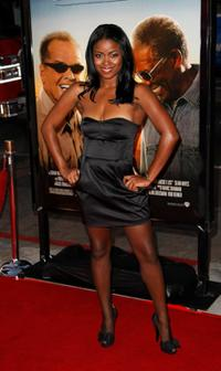 Serena Reeder at the premiere of