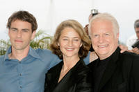 Laurent Lucas, Charlotte Rampling and Andre Dussolier at the photocall of