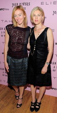 Annie Sundberg and Ricki Stern at the premiere of