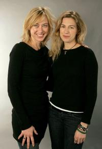 Annie Sundberg and Ricki Stern at the 2007 Sundance Film Festival.