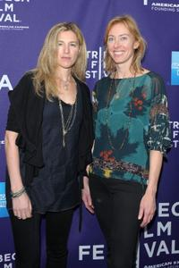 Ricki Stern and Annie Sundberg at the premiere of