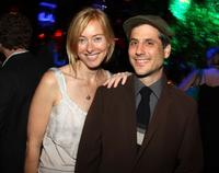 Annie Sundberg and Barry Mendel at the after party of the premiere of