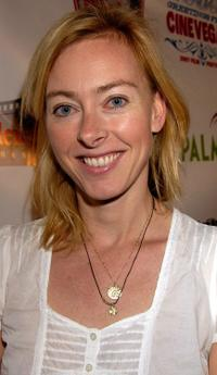 Annie Sundberg at the screening of