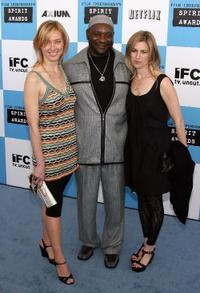 Annie Sundberg, Darryl Hunt and Ricki Stern at the 22nd Annual Film Independent Spirit Awards.