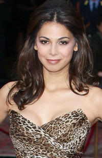 Moran Atias at the Dolce & Gabbana's 20 Years of Menswear during the Milan Fashion Week Spring/Summer 2011.