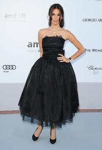 Moran Atias at the 2010 amfAR's Cinema Against AIDS Gala in France.