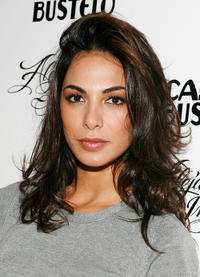 Moran Atias at the after party of the Alejandro Ingelmo Spring 2010 in New York.