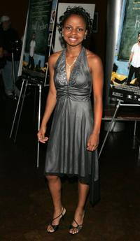 Shareeka Epps at the premiere of