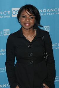Shareeka Epps at the screening of
