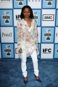 Shareeka Epps at the 2008 Film Independent's Spirit Awards.