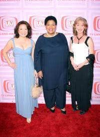Lily Mariye, Yvette Freeman and Ellen Crawford at the 7th Annual TV Land Awards.