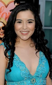 Emily Rios at the premiere of