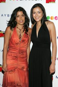 Alicia Sixtos and Emily Rios at the premiere of