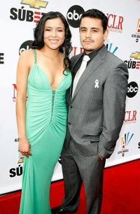 Emily Rios and Douglas Spain at the 2007 NCLR ALMA Awards.