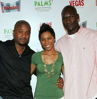 Had Jii, Kaira Whitehead and Anthony K. Hyatt at the premiere of