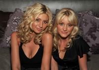 Alyson Michalka and A.J. Michalka at the Rock The Vote.
