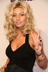 Alyson Michalka at the Esquire House Hollywood Hills Rock The Vote party.