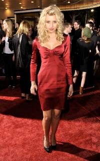 Alyson Michalka at the premiere of