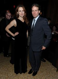 Jodie Markell and producer Brad Gilbert at the after party of the premiere of