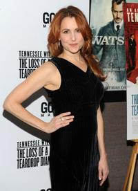 Jodie Markell at the premiere of