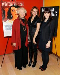 Ellen Burstyn, Jodie Markell and Bryce Dallas Howard at the