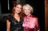 Director Jodie Markell and Ellen Burstyn at the premiere of