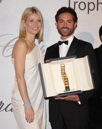 Gwyneth Paltrow and Omar Metwally at the 2008 Trophy Chopard Award.