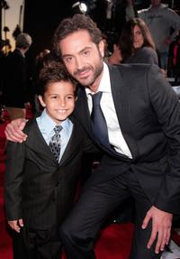 Aramis Knight and Omar Metwally at the Los Angeles premiere of