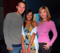 Michael Cassidy, Tessa Thompson and Sharon Lawrence at the premiere party of