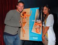 Michael Cassidy and Tessa Thompson at the premiere party of
