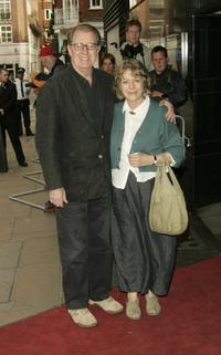 Corin Redgrave and Kika Markham at the UK premiere of
