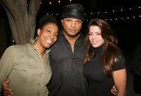 Daheli Hall, Franc Reyes and Darlena Tejeiro at the evening with photographer Marc Baptiste.