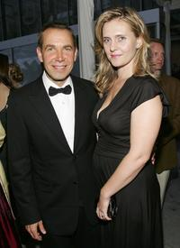 Jeff Koons and Justine Koons at the Museum of Modern Arts' 38th Annual Party.