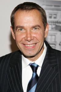 Jeff Koons at the private screening of