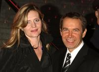 Justine Koons and Jeff Koons at the Vanity Fair party during the 2009 Tribeca Film Festival.