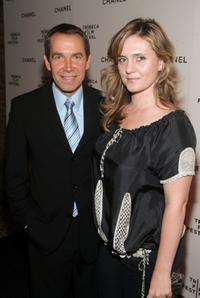Jeff Koons and Justine Koons at the Chanel dinner during the 2007 Tribeca Film Festival.