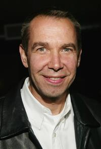 Jeff Koons at the after party of the New York premiere of