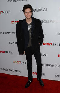 Nat Wolff at the Teen Vogue's 10th Anniversary young Hollywood party in California.