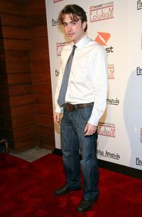 James Snyder at the premiere of