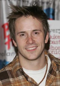 Robert Hoffman at Planet Hollywood in N.Y. for a handprint ceremony.