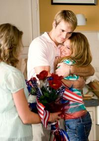 Robert Hoffman as Ricky and Ashley Tisdale as Bethany in