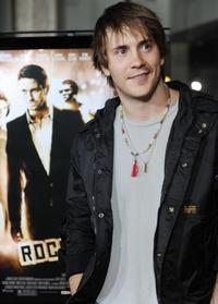 Robert Hoffman at the premiere of