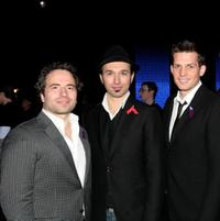 Remigo Pereira, Victor Micallef and Clifton Murray at the Canada for Haiti Benefit.