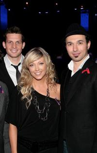 Clifton Murray, Cheryl Hickey and Victor Micallef at the Canada for Haiti Benefit.