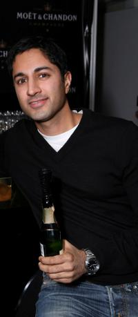 Maulik Pancholy at the Luxury Lounge in honor of 2008 SAG Awards.