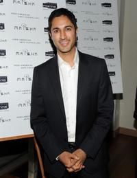 Maulik Pancholy at the after party of the screening of