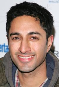 Maulik Pancholy at the launch of Sixdegrees.org during the Entertainment Weeklys celebration of the 2007 Sundance Film Festival.