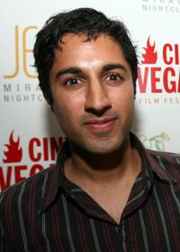 Maulik Pancholy at the CineVegas film festival.